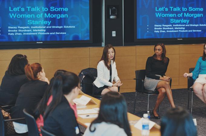RTSWS Women of Morgan Stanley - Rock The Street, Wall Street